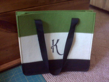 Initialed Purse