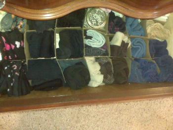 Organized Sock Drawer