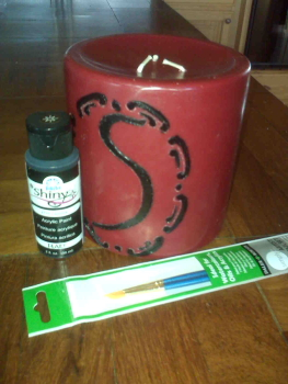 Initialed Gift Candle Supplies
