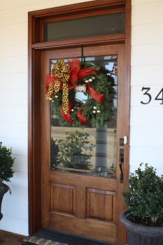 Front Door Wreath, 2012