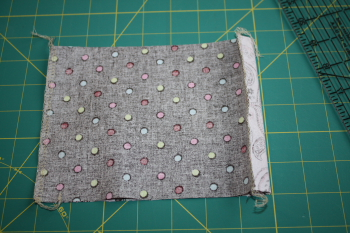 Tissue Holder, Sewn Edges