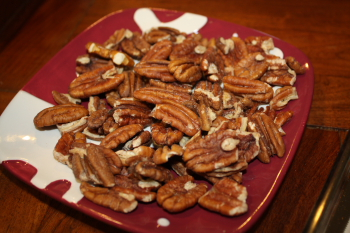 Roasted, Salted Pecans
