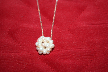 Mississippi Snowball Necklace