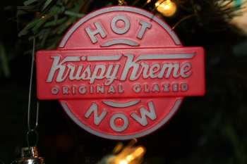Krispy Kreme Ornament
