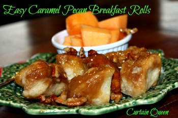 Easy Caramel Pecan Breakfast Rolls