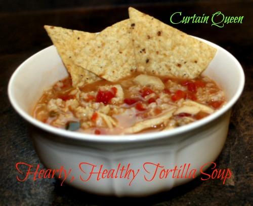 Hearty, Healthy Tortilla Soup