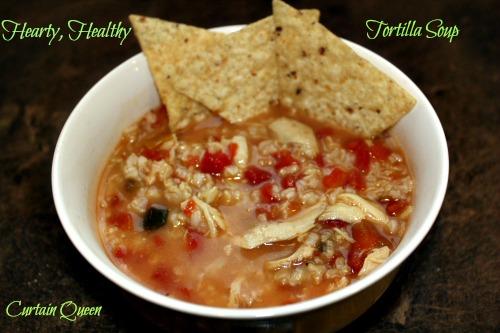 6-Ingredient Tortilla Soup