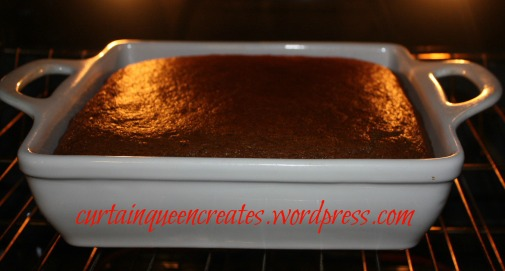 Gingerbread in Oven