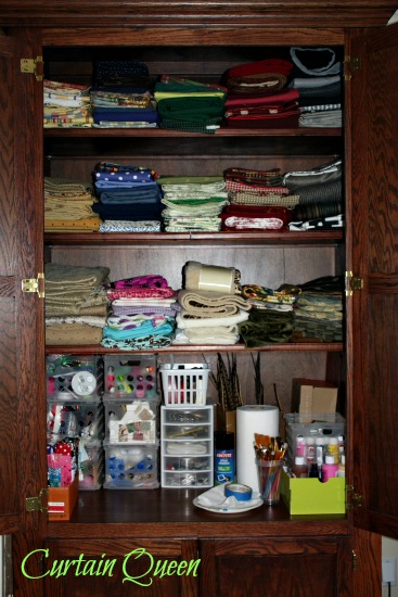 Computer Cabinet Re-organized