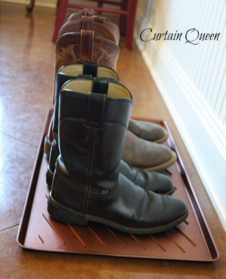 Knock-Off Boot Tray