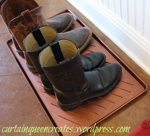 Knock-Off Ballard Boot Tray