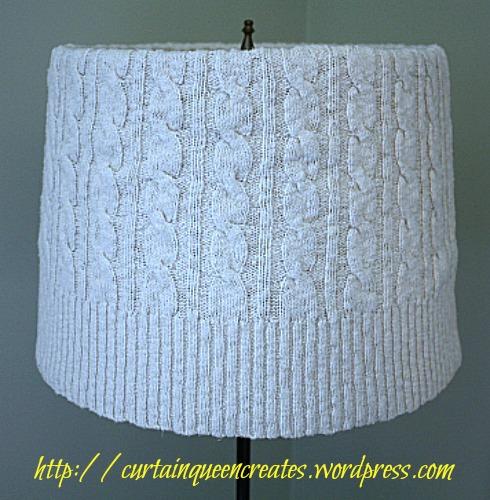 Sweater Lampshade