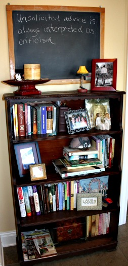 Bookshelf Moved