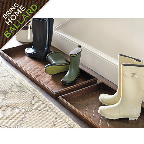 Ballard Designs Boot Tray