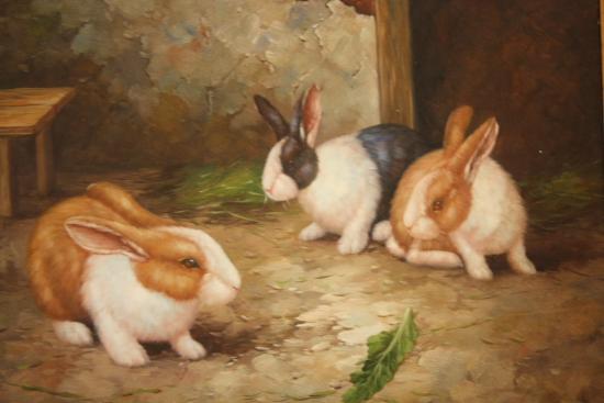 Artwork of Bunnies