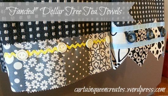 Fancy Dollar Tree Tea Towels