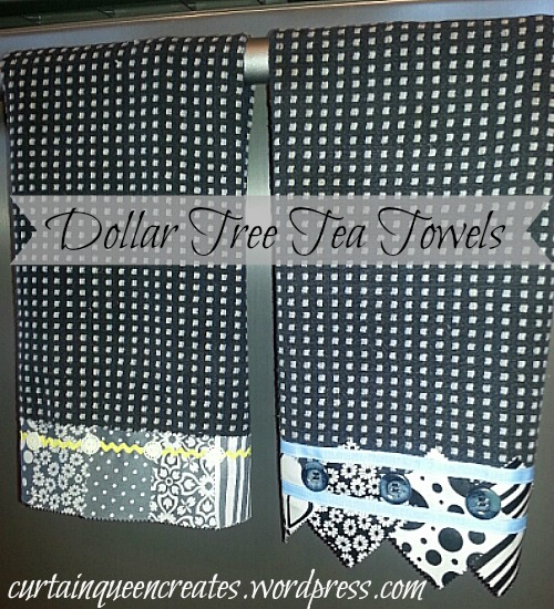 Dollar Tree Tea Towels