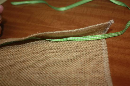 Inserting Ribbon