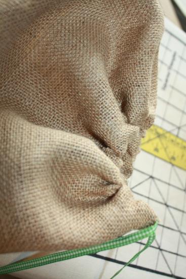 Cinched Bag