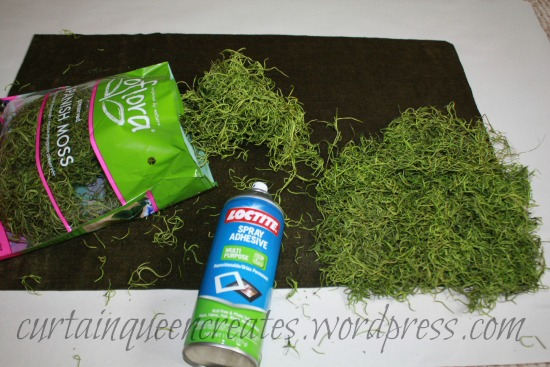 Spanish Moss Mat Supplies