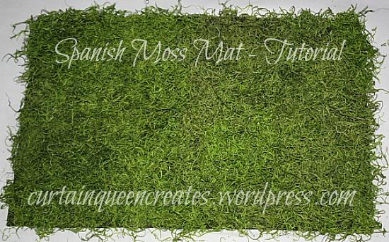 Spanish Moss Mat