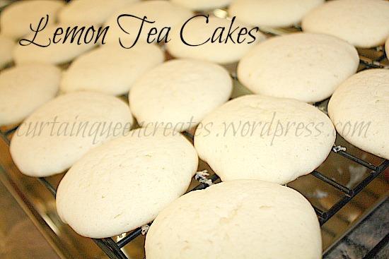 Lemon Tea Cakes Complete