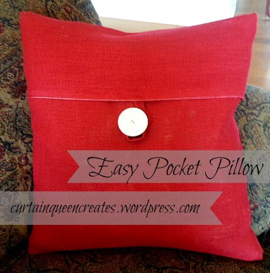 Easy Pocket Pillow