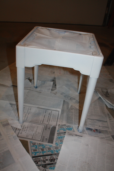 Painting Seat