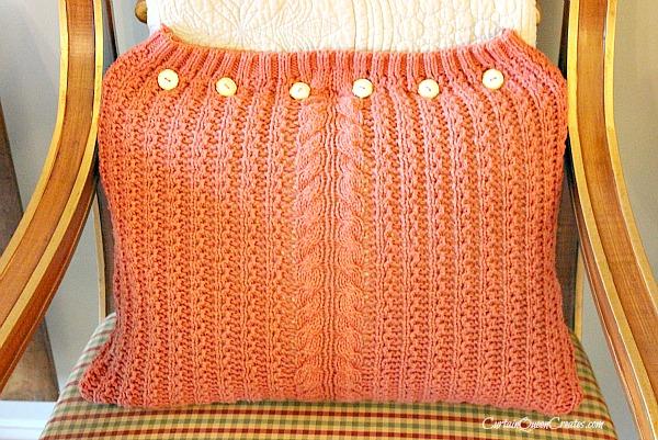 Sweater Pillow DIY