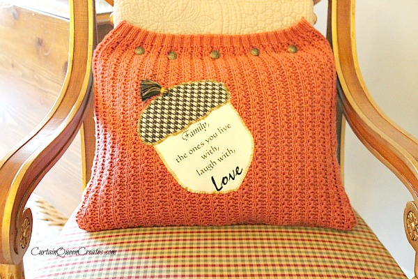 Acorn Pillow DIY