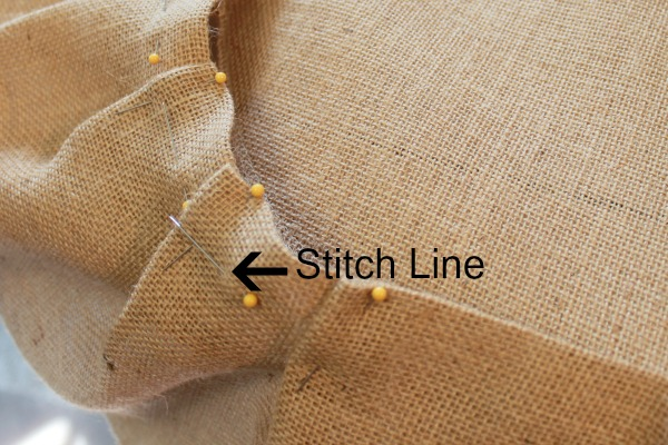 Skirt Stitch Line