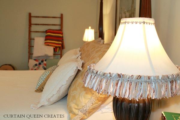 Lamp Fringe DIY