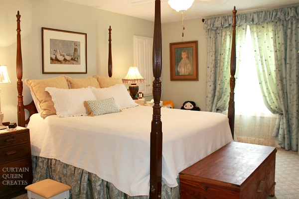 Guest Room Redecorated