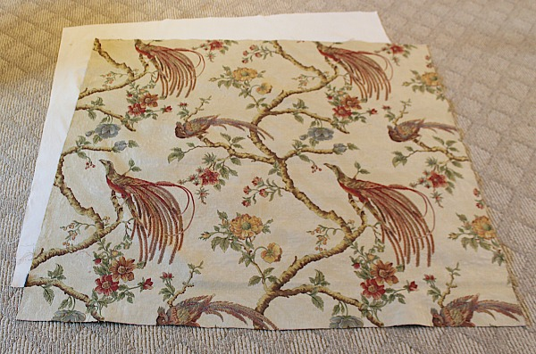 Table Topper and Lining Fabric Cuts