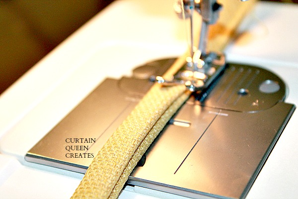 Stitching Strips for Ties