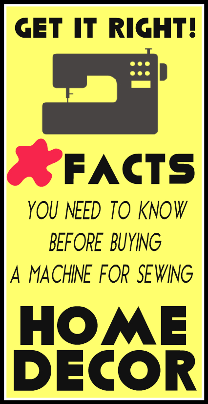Choose Your Sewing Machine Wisely