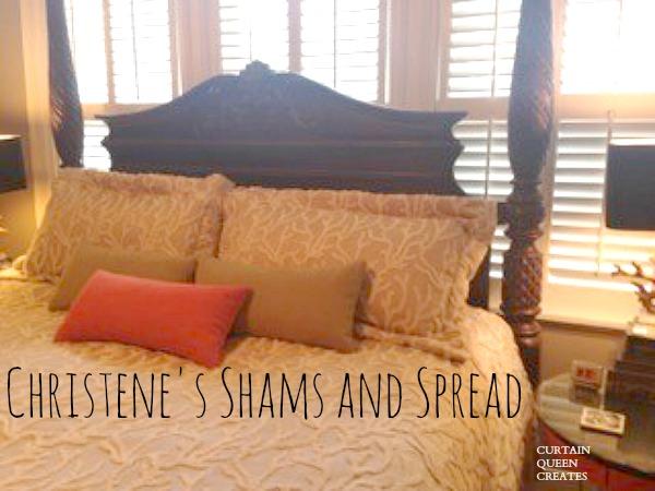 Christene's Shams and Spread