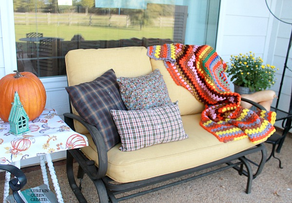 Fall Flannel Pillows DIY