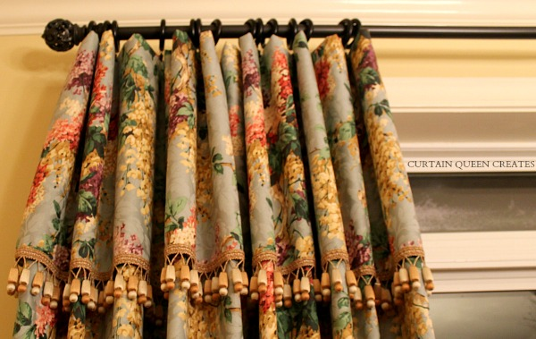 Waterfall Portion of Curtain Panel