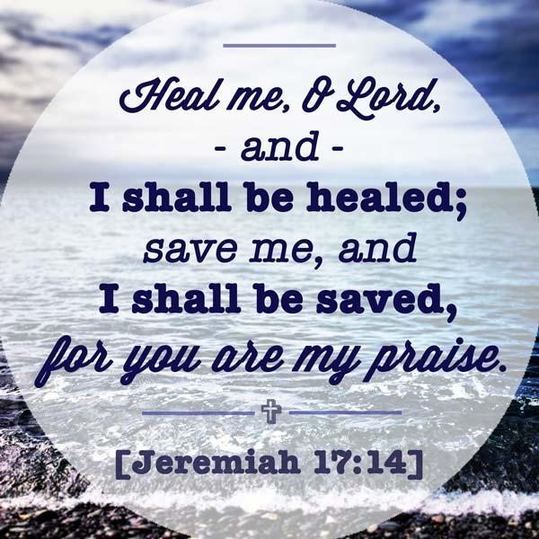 Jeremiah 17.14