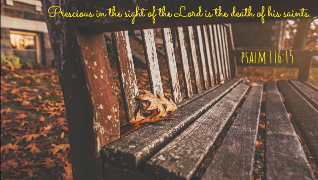 Psalm 116:15