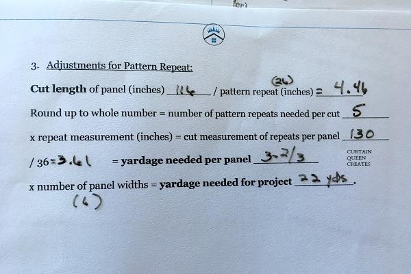Yardage Calculations