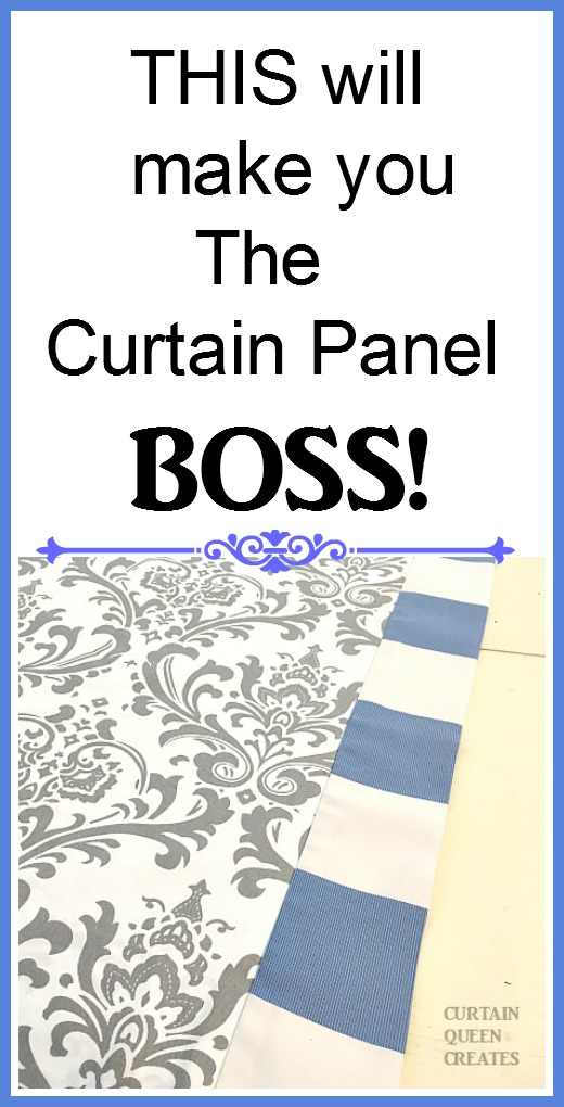 This technique will make you The Curtain Panel Boss!