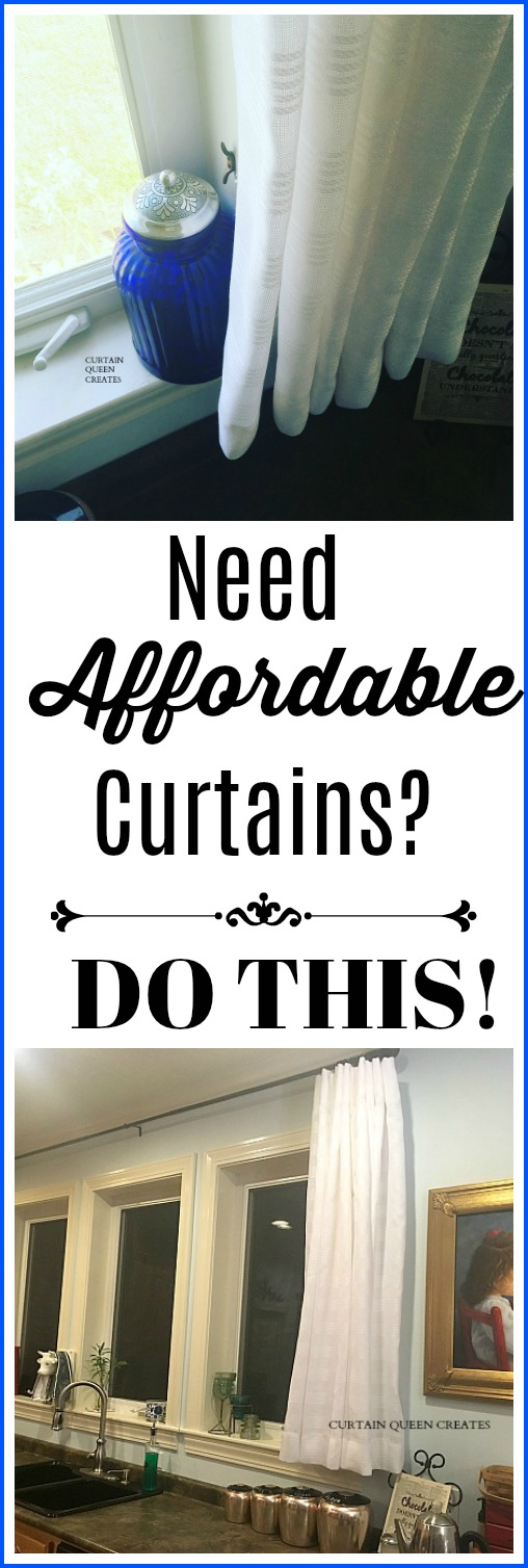 Need Affordable Curtains?