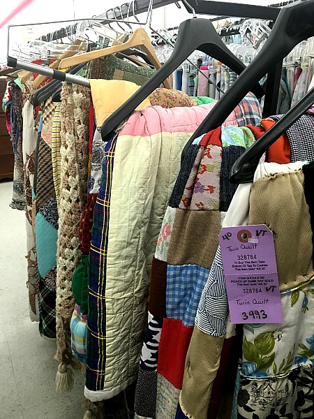 Thrift Store Quilts